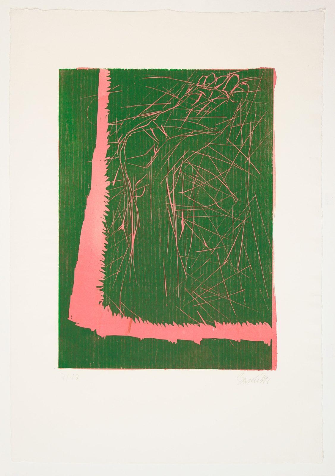 Georg Baselitz | Absprung.