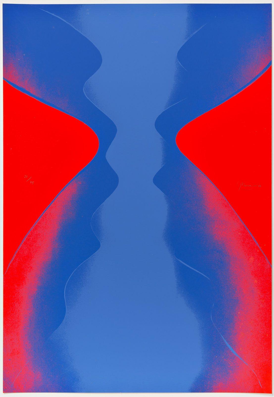 Otto Piene | Ciel Rouge. Ciel Bleu.