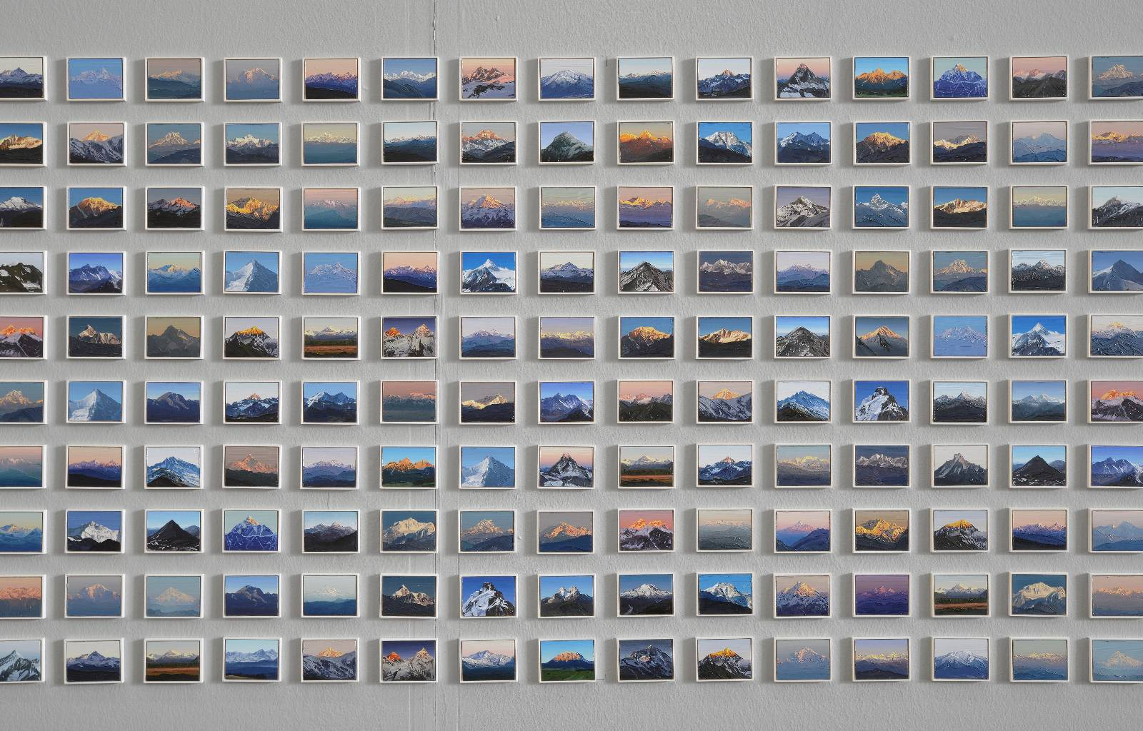 Felix Rehfeld | 500 Arbeiten aus der Serie 1000 Berge.