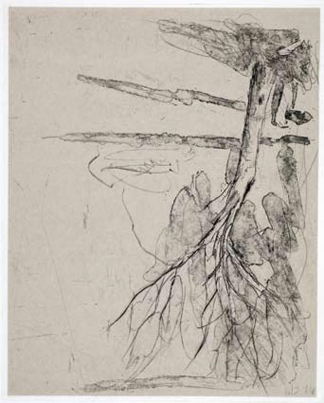 Georg Baselitz | aus der Serie Bäume.