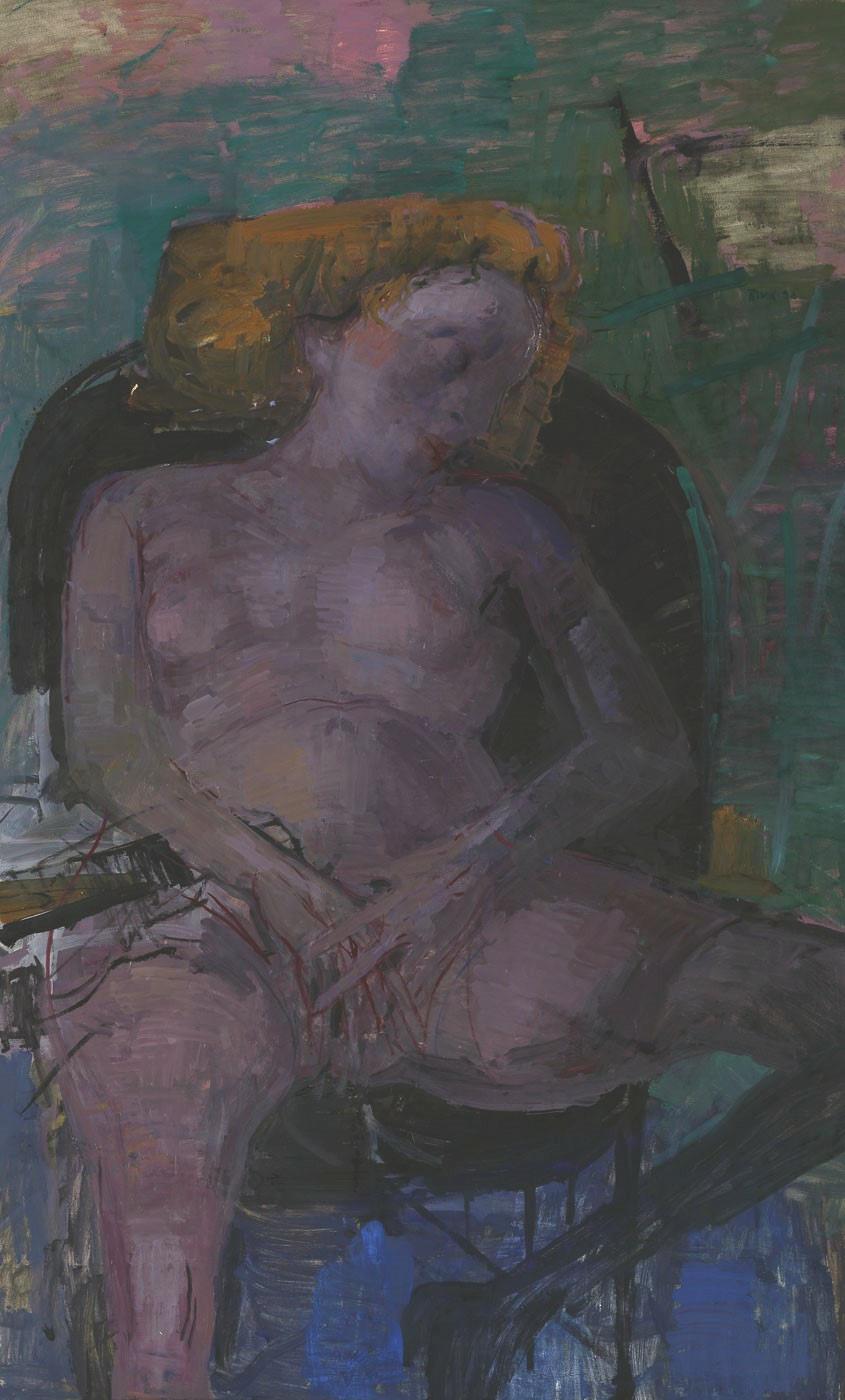 Arno Rink | Träumende Frau II.