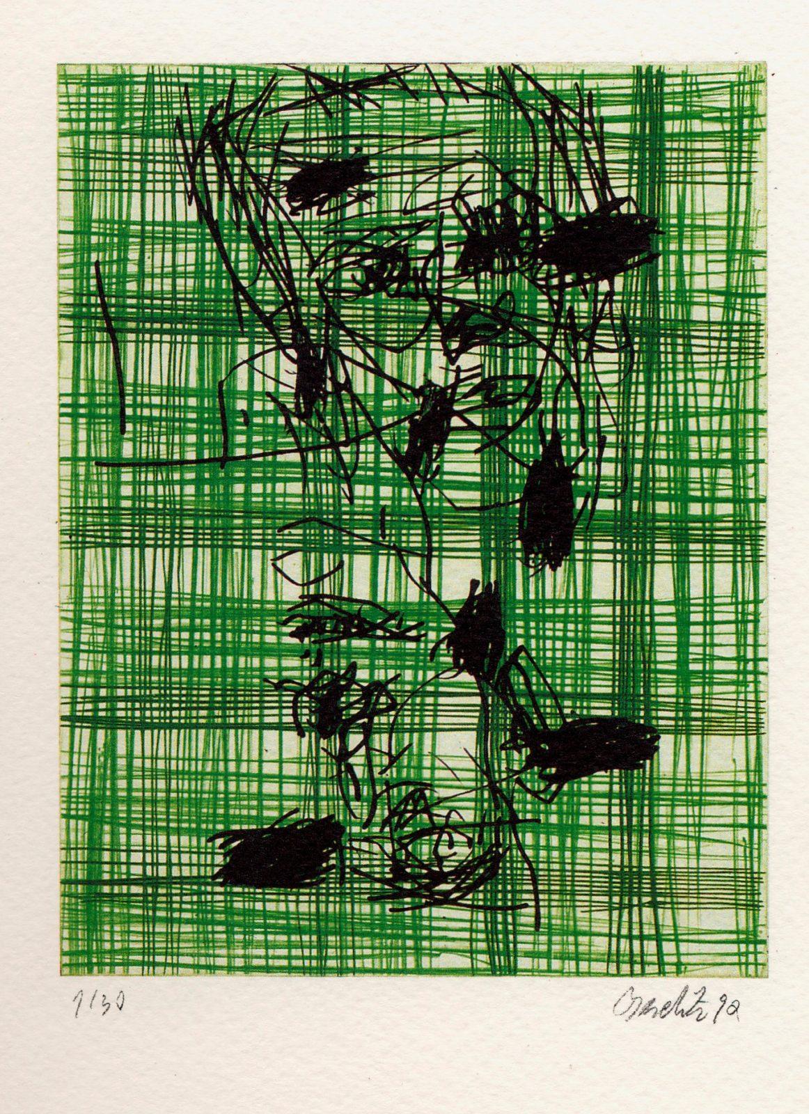 Georg Baselitz | Zahlenspiel.