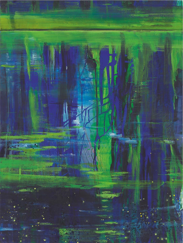 Bernd Zimmer | … die ein Blau von Ferne spiegeln
