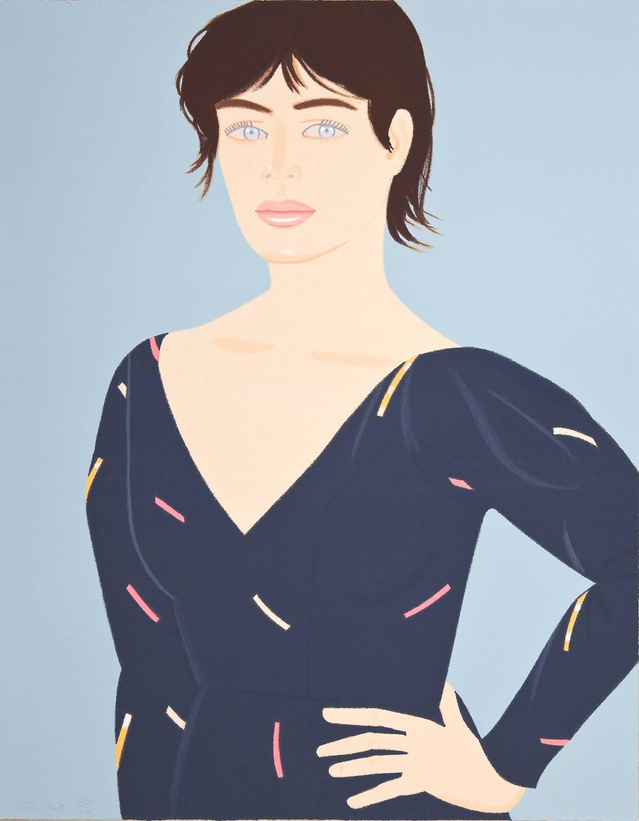 Alex Katz | Grey Dress.