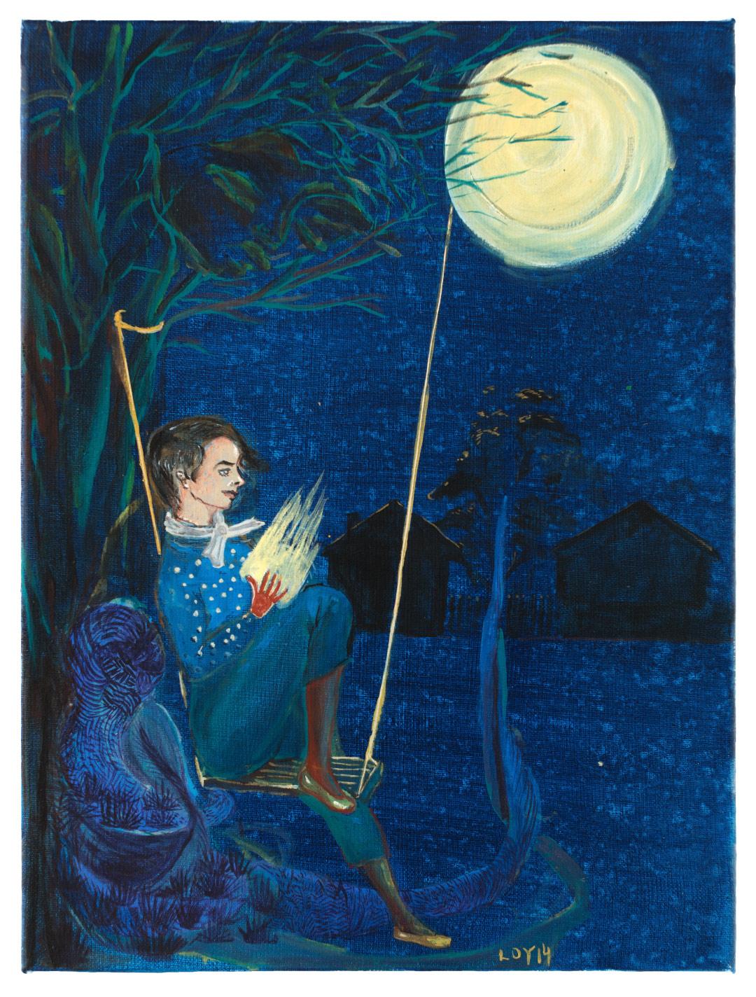 Rosa Loy | Sophies Mondschaukel