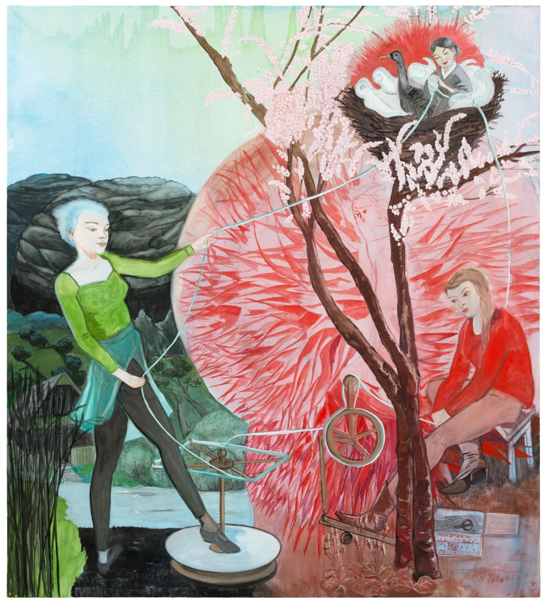 Rosa Loy | Drei Parzen