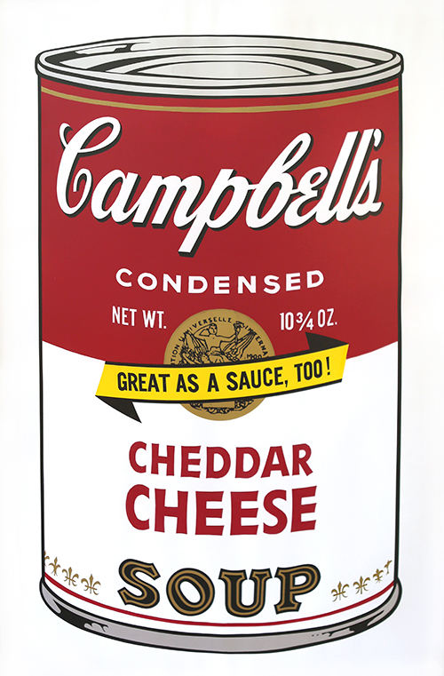 Andy Warhol   Campbells Soup II. Cheddar Cheese (FS II.63)