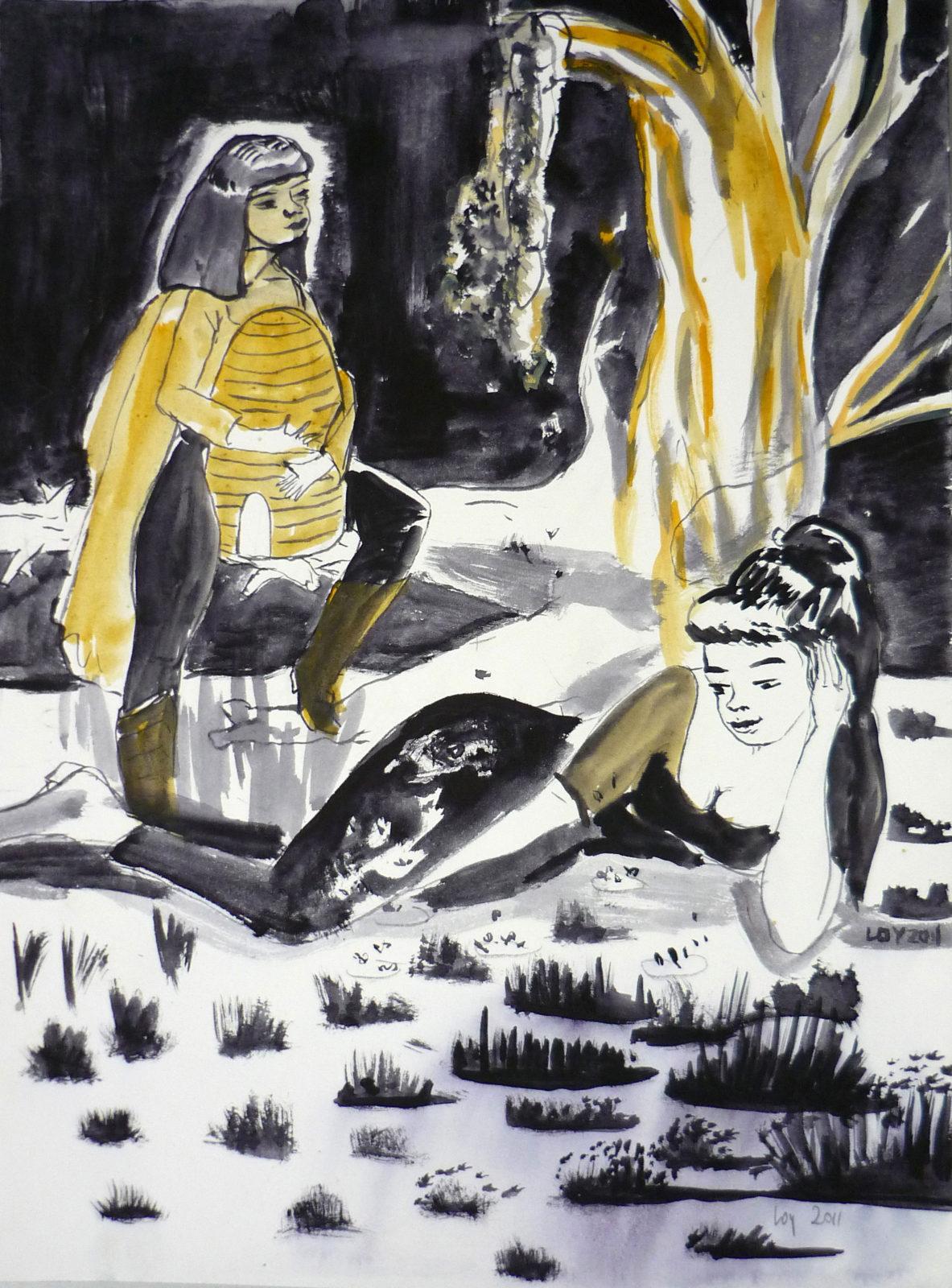 Rosa Loy | Der Bienenkorb.