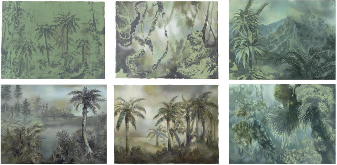 Isabelle Dutoit | historische Landschaften (6-teilig).