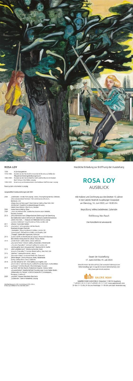 Rosa Loy | Ausblick
