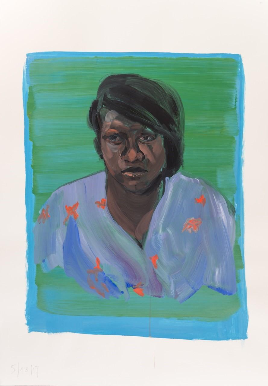 Felix Weinold | Ohne Titel (Portrait K.)