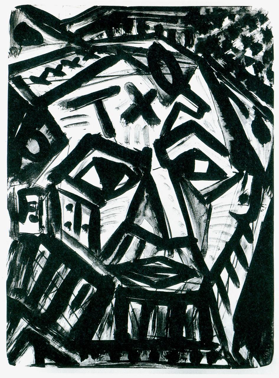 A. R. Penck | Selbst auf Pablos Spuren.