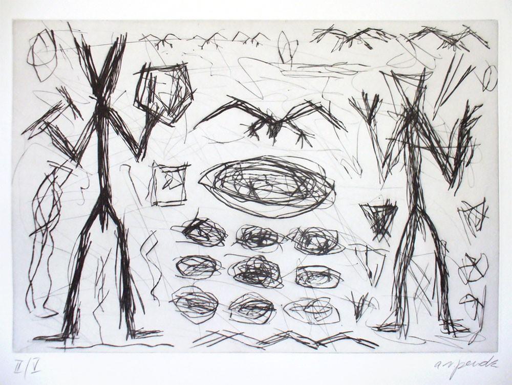 A. R. Penck | ohne Titel (1).