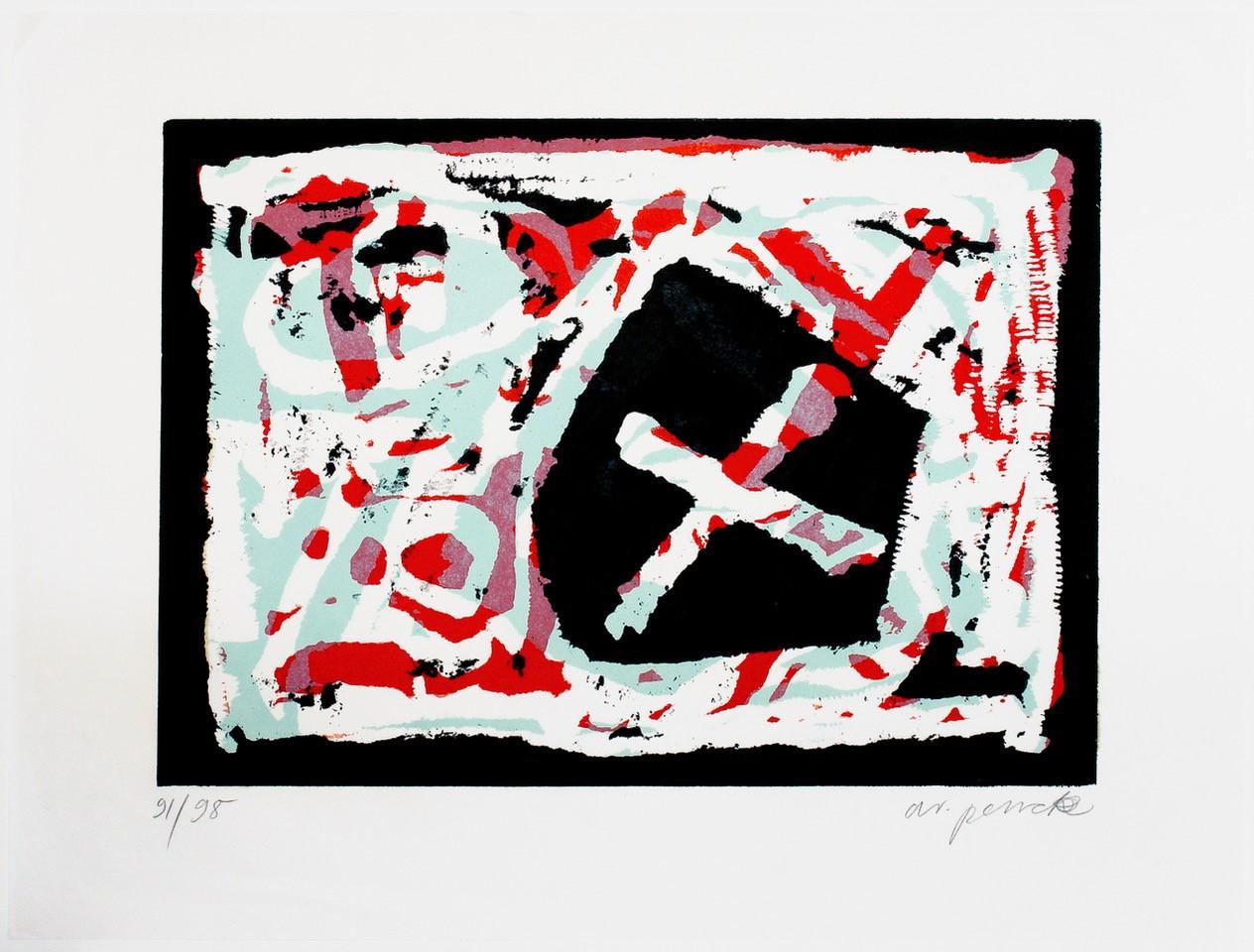 A. R. Penck | Pentagon X.