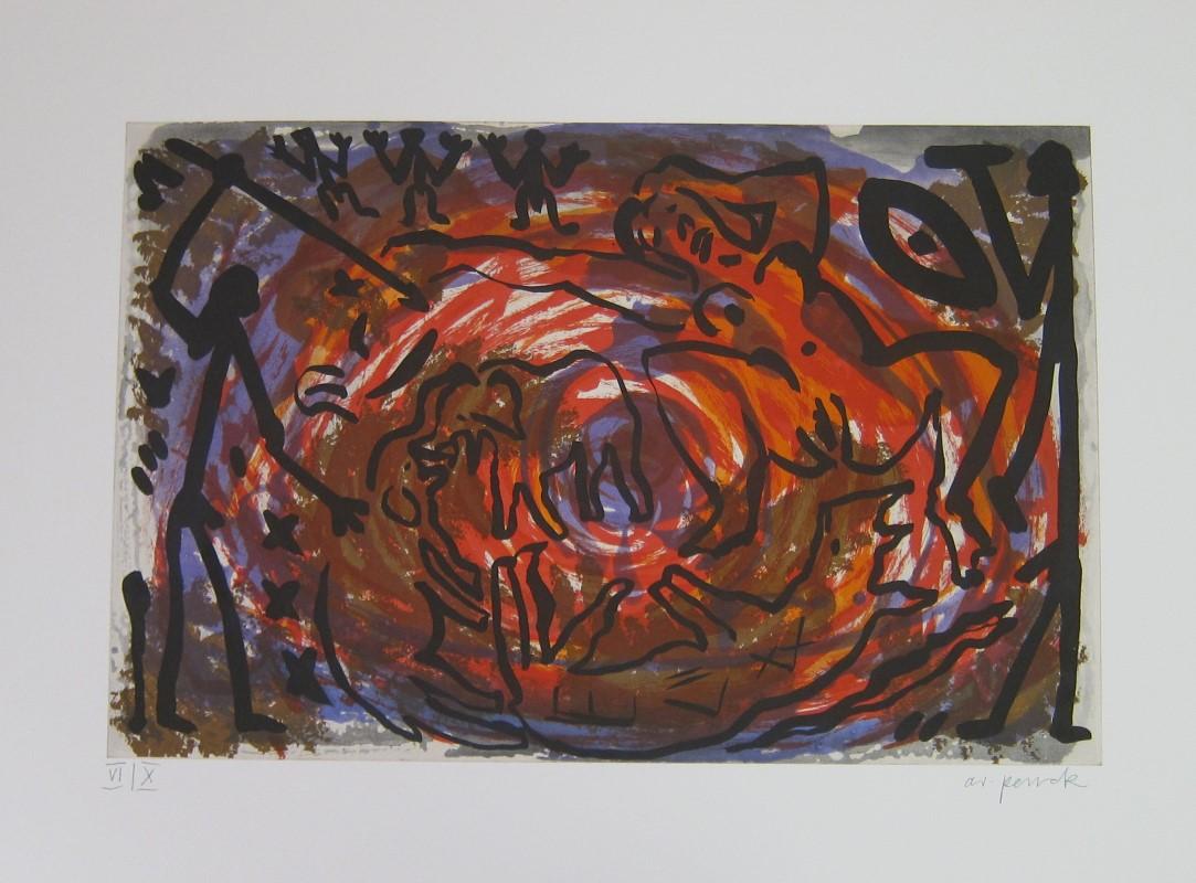 A. R. Penck | ohne Titel.
