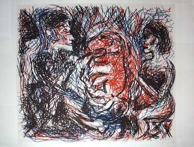 A. R. Penck | Gustav und Marian.