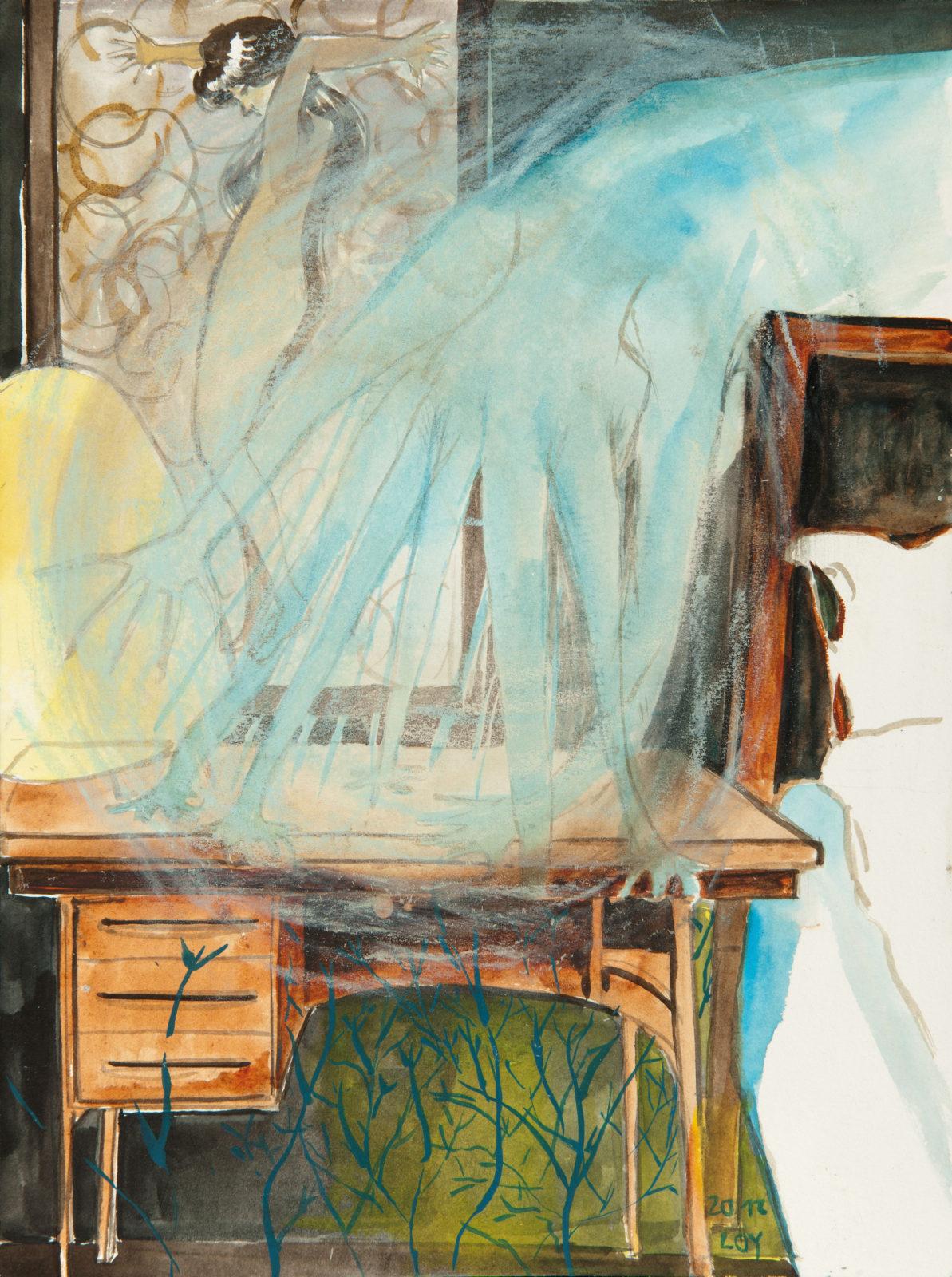 Rosa Loy | In fremden Betten.