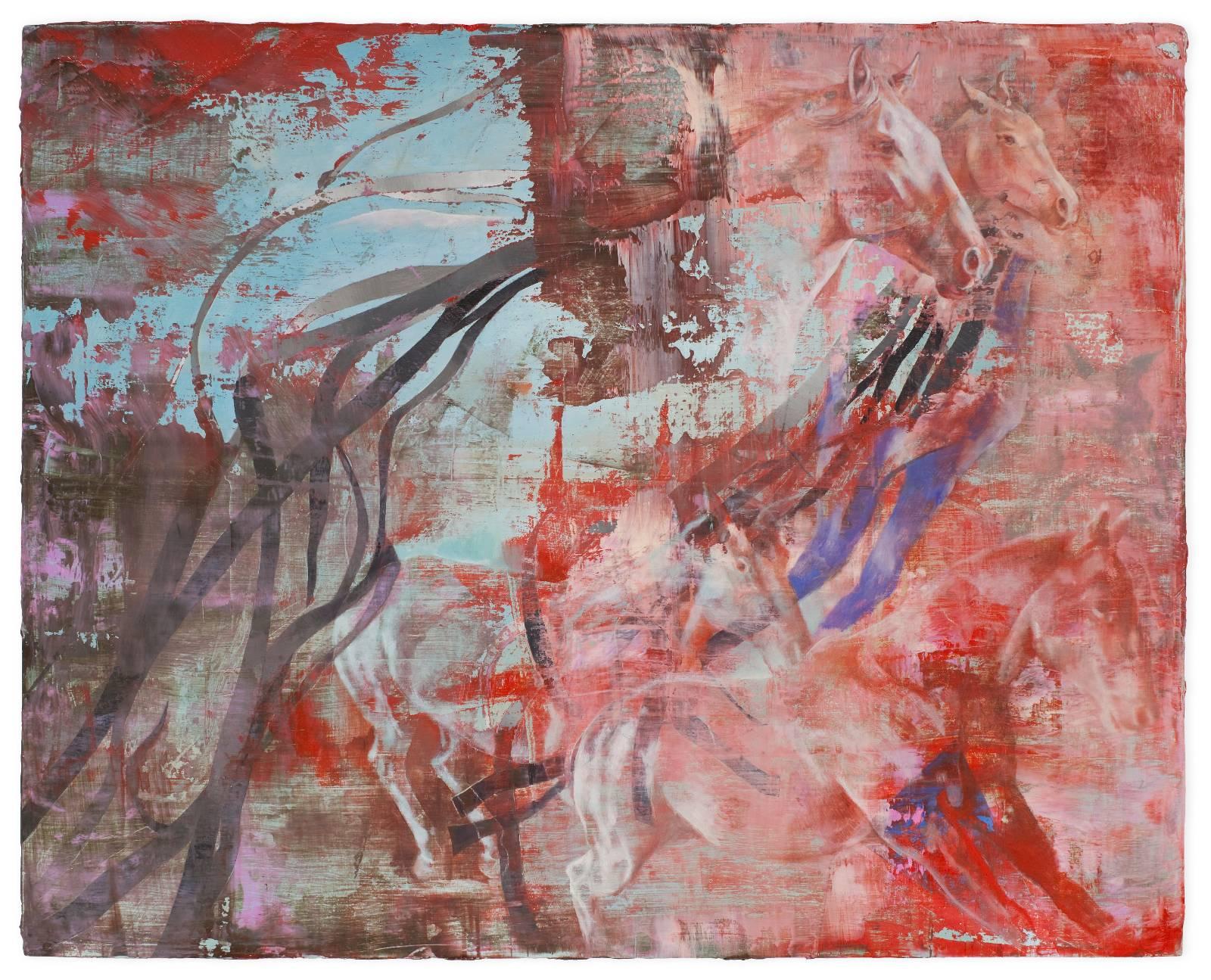 Isabelle Dutoit | Pferde (rot).