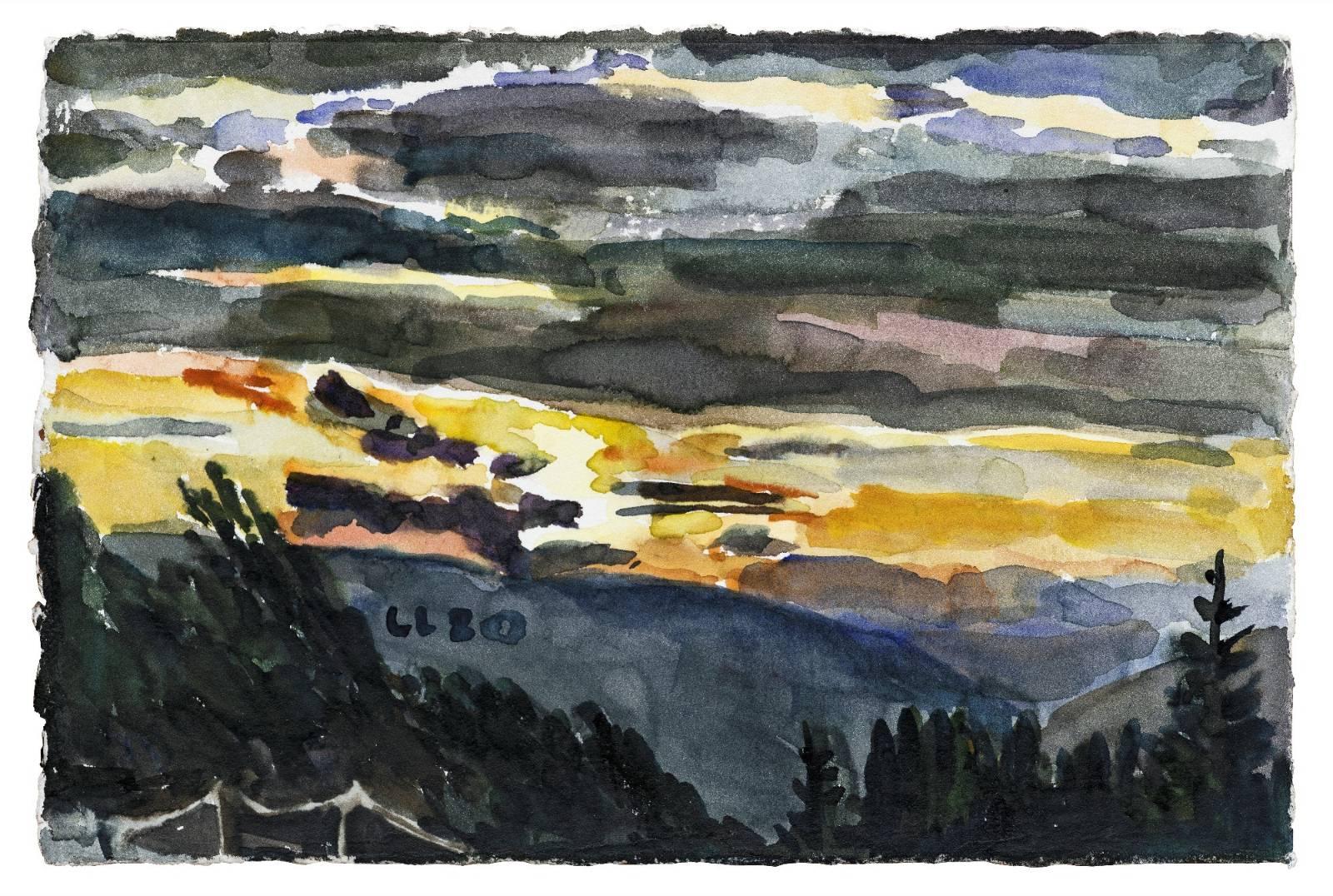 Christopher Lehmpfuhl | Abendhimmel.