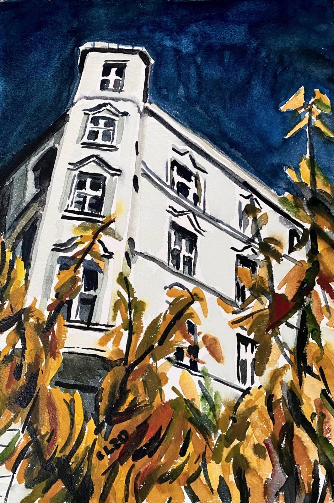 Christopher Lehmpfuhl | Herbstliche Fassade.