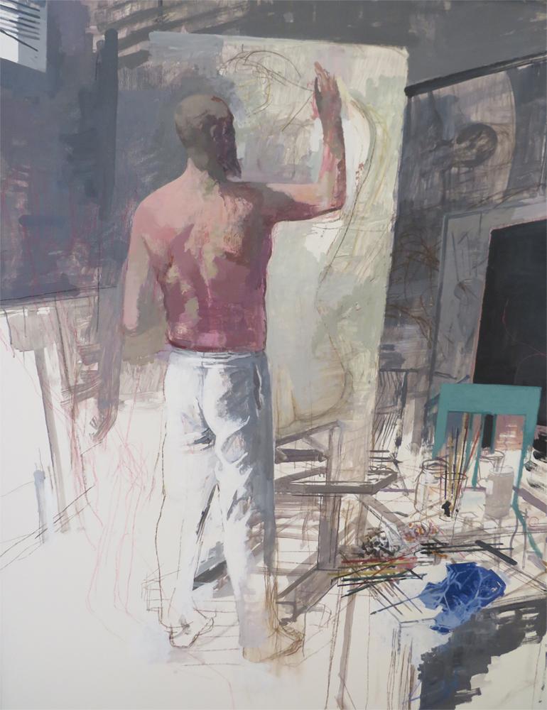 Arno Rink | Selbst im Atelier.