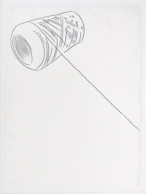Andy Warhol   Spool of String.