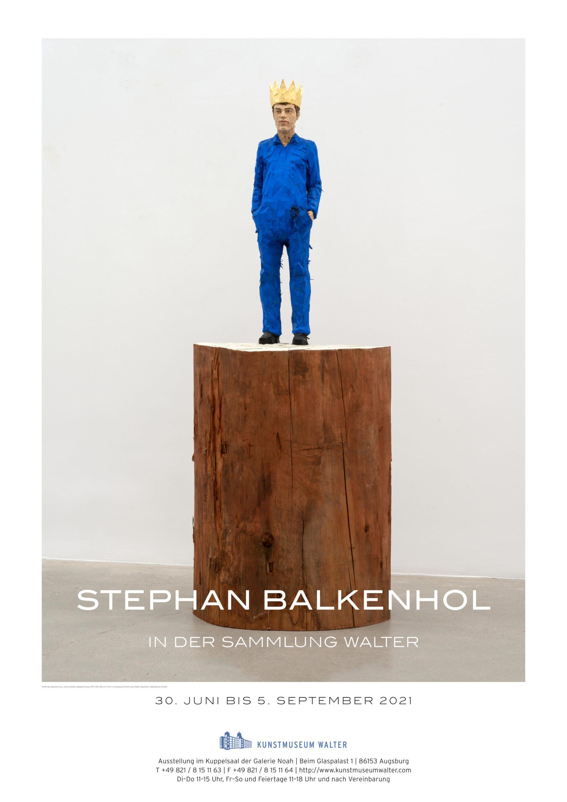 Stephan Balkenhol in der Sammlung Walter